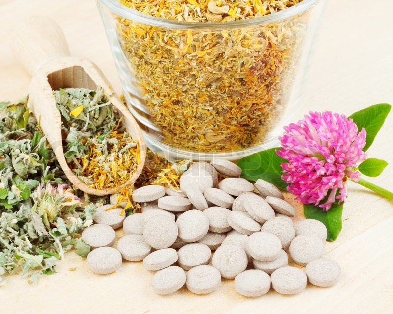 4252573-healing-herb-in-glass-cup-tablets-herbal-medicine